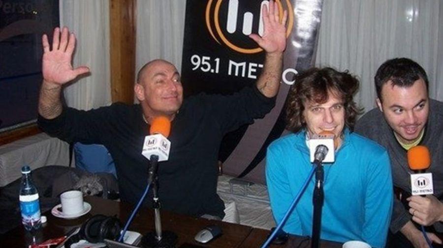 Fernando Peña, Diego Scott y Juan Butvilovsky