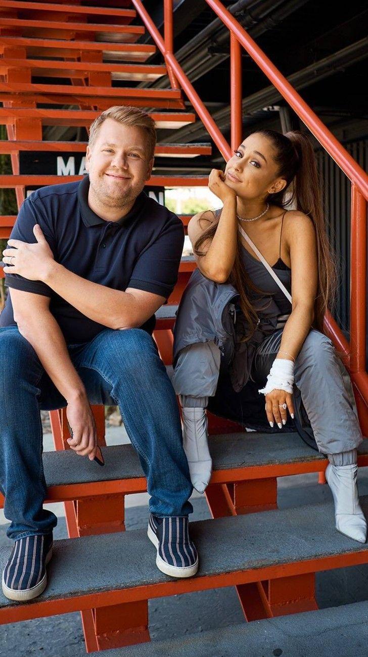 Fin de las restricciones en Nueva York: así fue el impresionante musical de Ariana Grande y JamesCorden