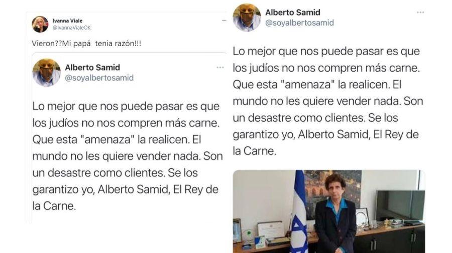 Ivanna Viale respuesta Alberto Samid