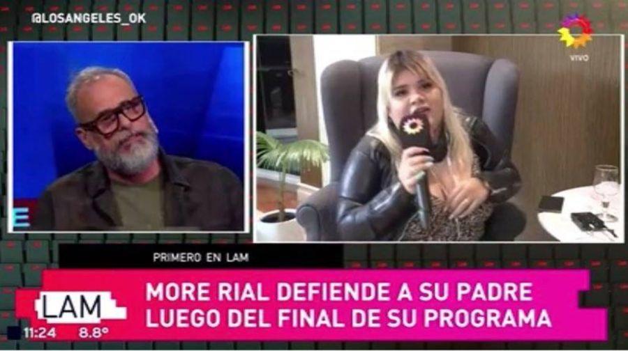 More Rial habló sobre el presente de su padre tras la escandalosa renuncia a TVNostra.