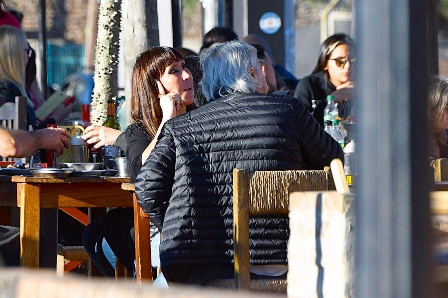 Moria Casan y Pato Galmarini: primeras fotos de la pareja