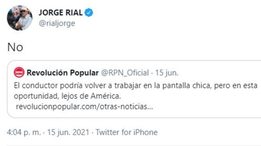 Jorge Rial no se suma a C5N
