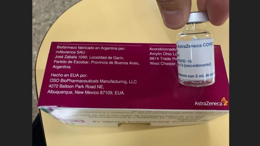 Mariano Iudica vacunado