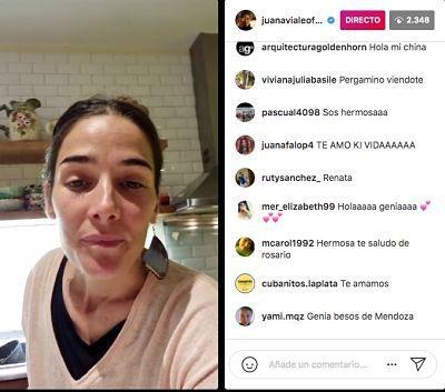El piropo de Agustín Goldenhorn a Juana Viale en las rede sociales