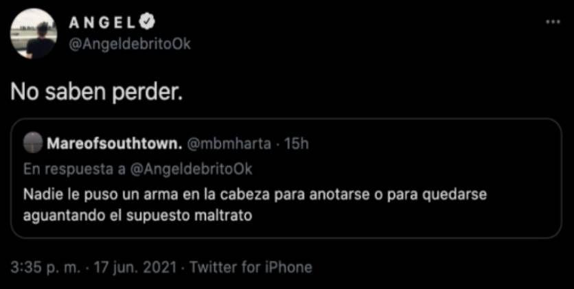 Masterchef Celebrity 2: picante reacción de Ángel de Brito sobre el escándalo de Claudia Fontán y su hermana