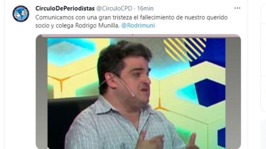 Muerte Rodrigo Munilla