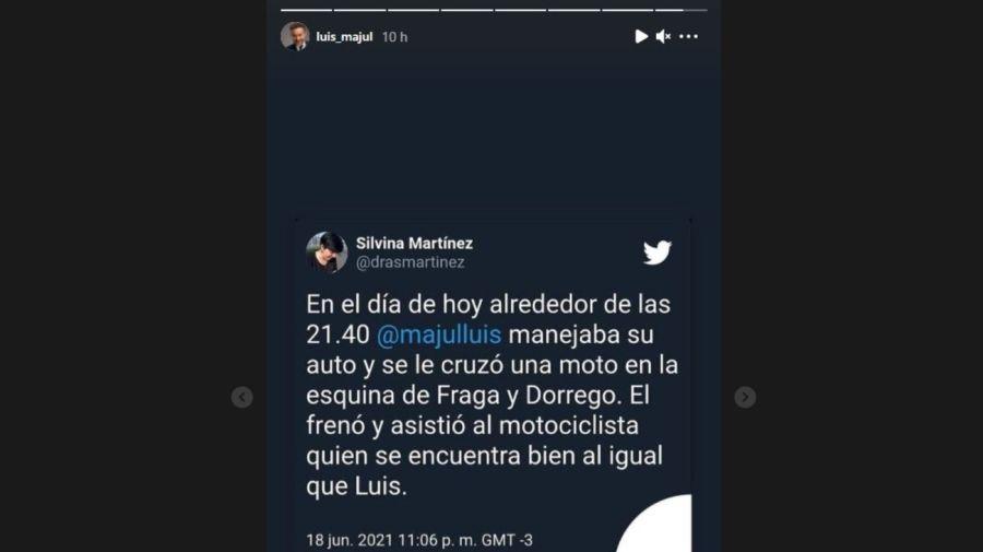 Accidente Luis Majul