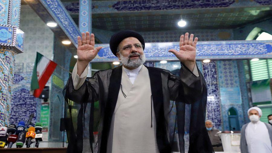 El nuevo presidente iraní Ebrahim Raisí