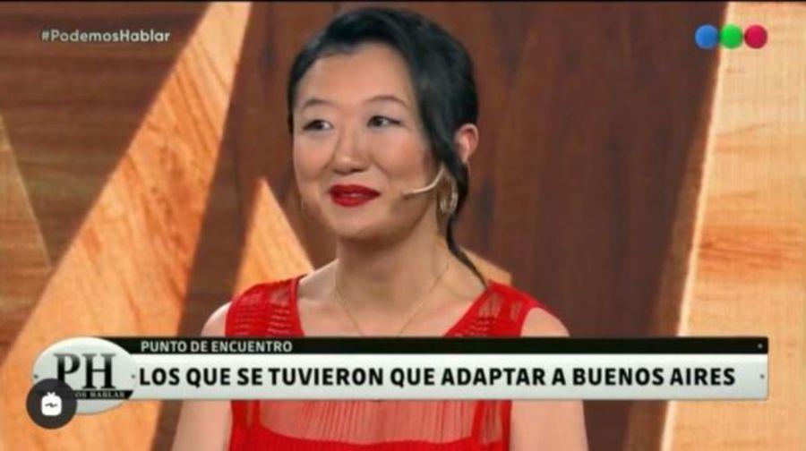 KarinaGocontó su historia de desarraigo en PH Podemos Hablar