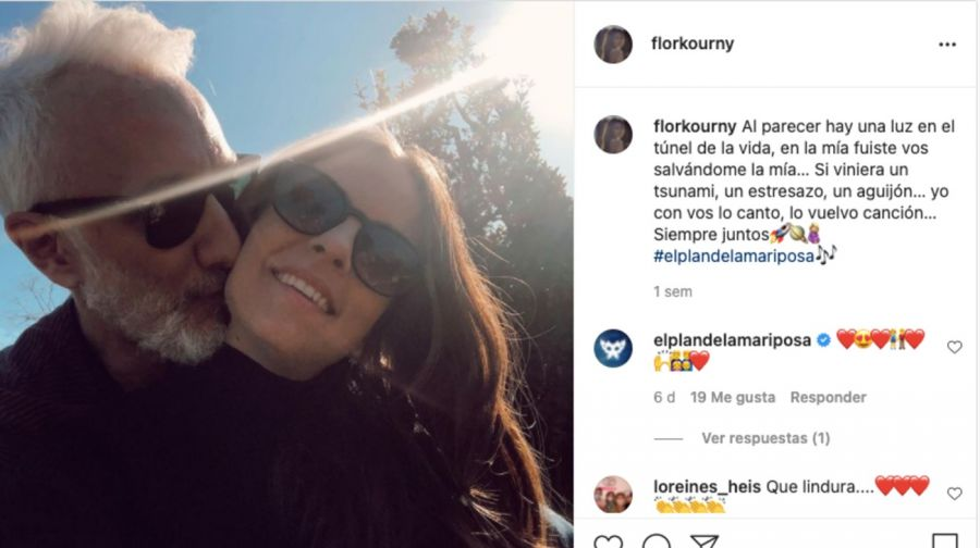 La historia de amor de AndyKusnetzoffy Florencia Suárez