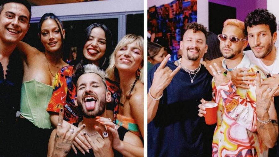 Toda la intimidad de la fiesta privada de Mau y Ricky en Miami