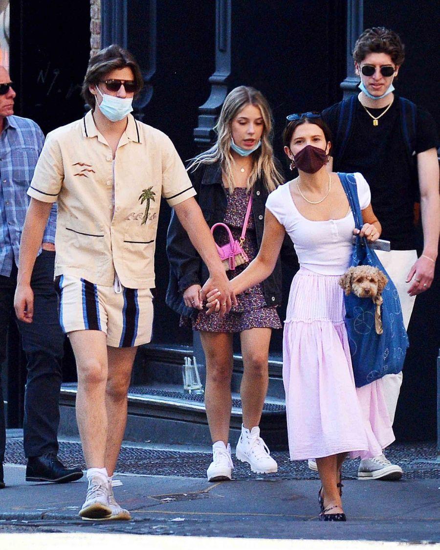 Descubren a Millie Bobby Brown con el hijo de Bon Jovi en Nueva York