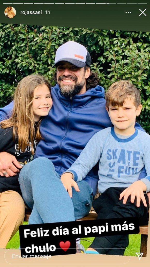 El curioso mensaje de Sabrina Rojas en el Día del Padre junto a Luciano Castro
