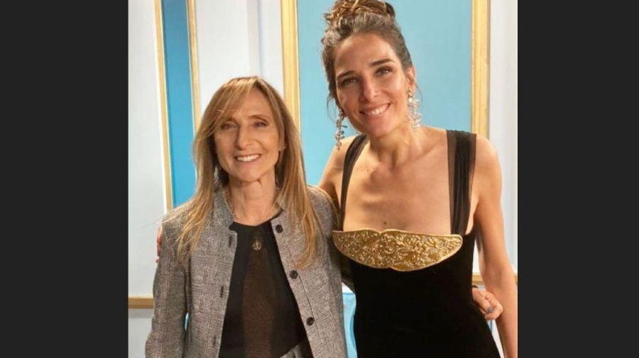 Gladys Florimonte y Juana Viale
