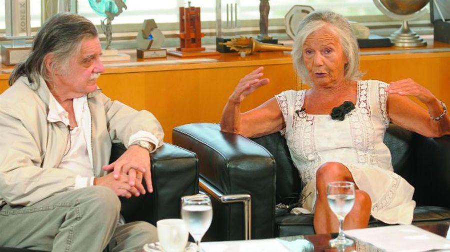 Horacio González y Beatriz Sarlo 202010622