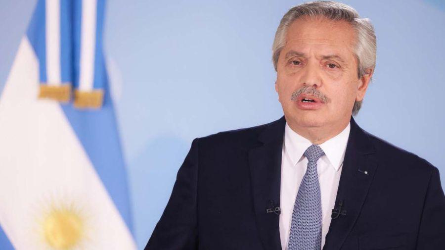 Alberto Fernández y Sergio Palazzo-20210623