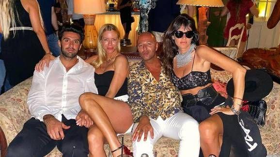 Las fotos de Nicole Neumann con su novio en Miami