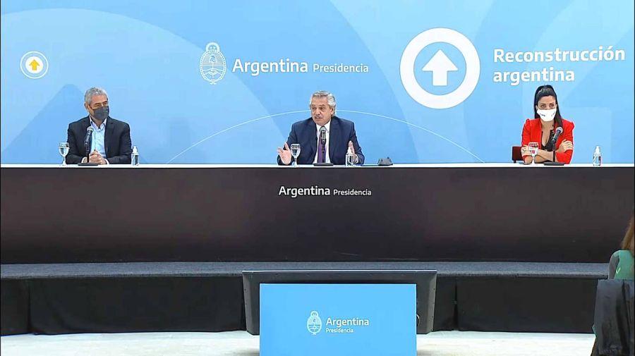 Alberto Fernández encabezó el lanzamiento del plan Casa Propia Casa Activa 2021062