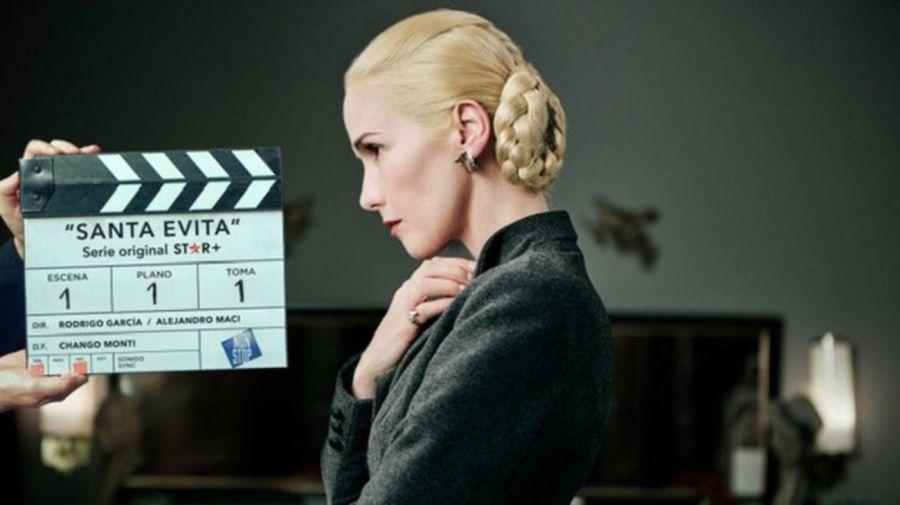 Natalia Oreiro como Eva Peron en Santa Evita