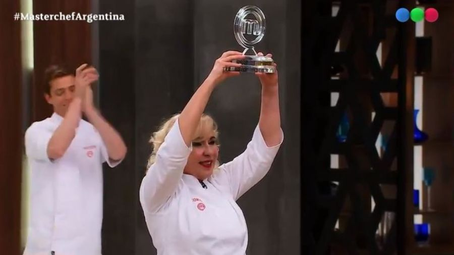 Georgina Barbarossa ganadora MasterChef Celebrity 2