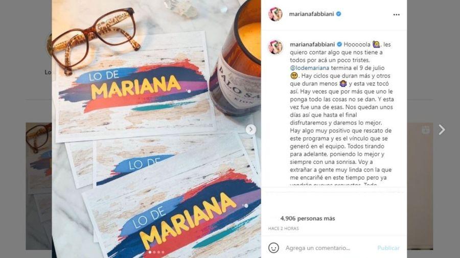 Levantan Lo de Mariana