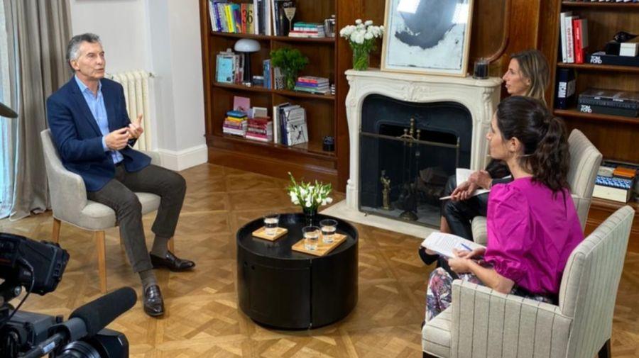 Mauricio Macri Entrevista