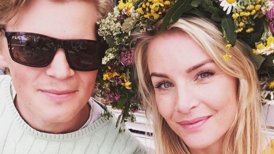 Patrik Andersson y Alexandra La Sueca Larsson