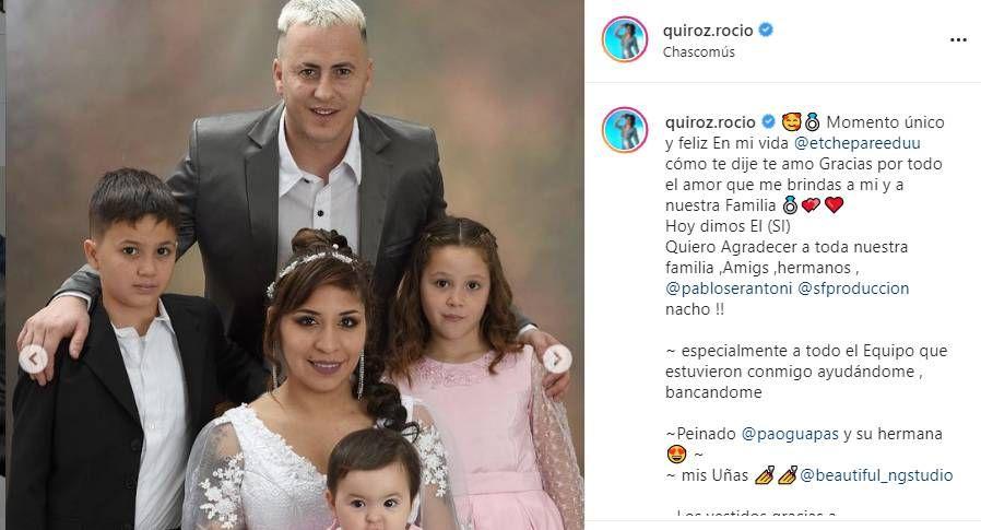 Se casó Rocío Quiroz: así fue la boda íntima y con protocolos