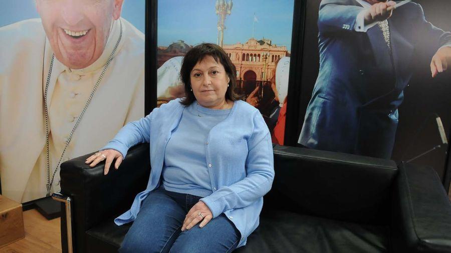 Graciela Ocaña, en la entrevista con Jorge Fontevecchia.