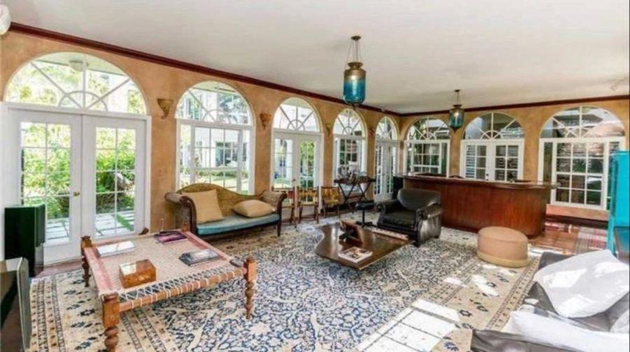 La mansión estilo Art Decó de Ricardo Montaner en Miami