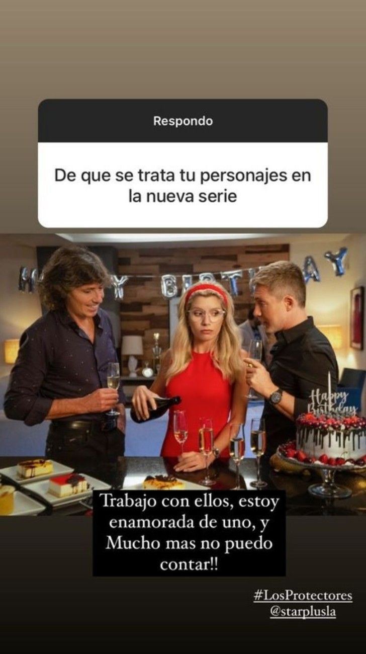 Laurita Fernández dio detalles de cómo será su personaje en la serie que protagoniza con AdriánSuary Gustavo Bermúdez