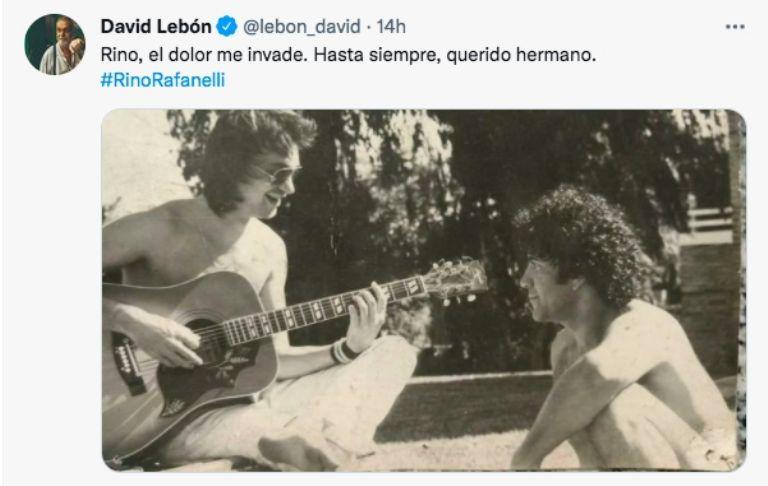 Murió Rinaldo Rafanelli, una leyenda del rock nacional