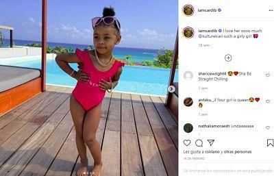 Cardi B está embarazada de su segundo hijo