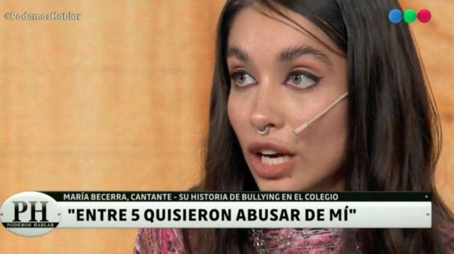 El duro relato que contó María Becerra en PH Podemos Hablar
