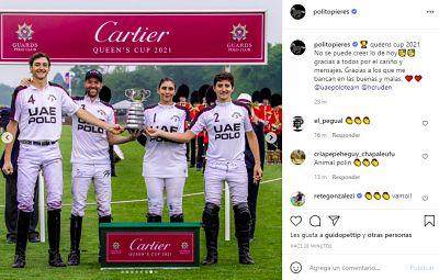 La victoria de Polito Pieres en la Queen's Cup
