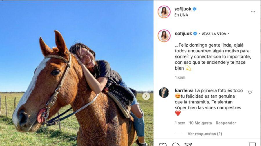 Las fotos que confirman el romance entre Sofia Jujuy Jiménez y Bautista Bello