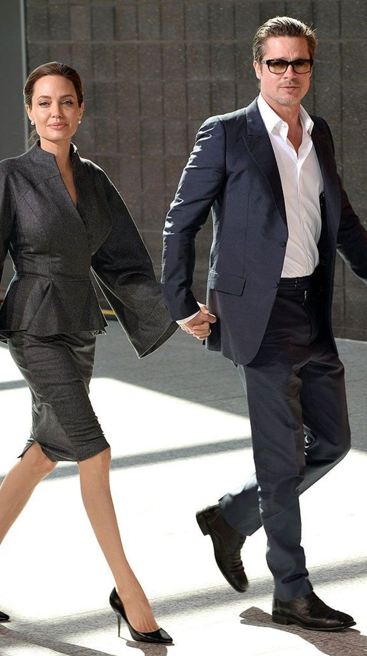 Los hijos de Angelina Jolie quieren declarar contra Brad Pitt