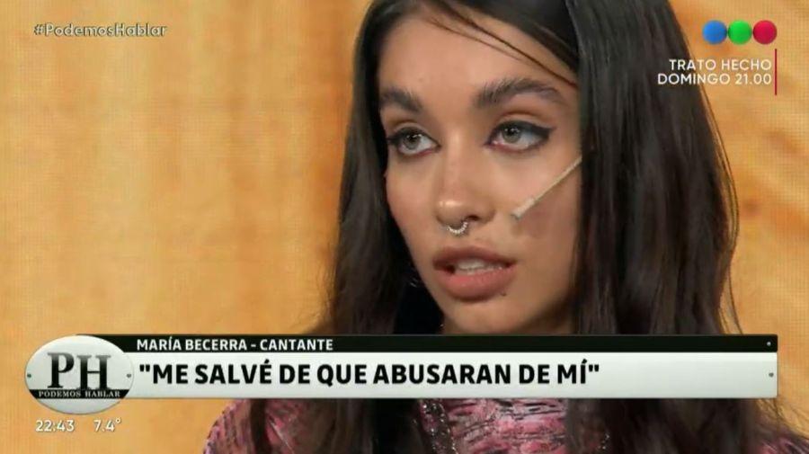 Maria Becerra denuncia abuso