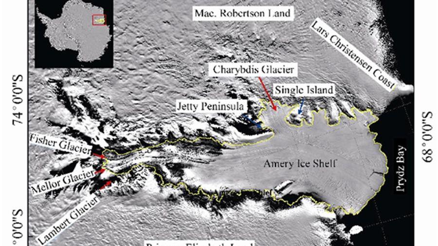 Amery Ice Shelf 20210628
