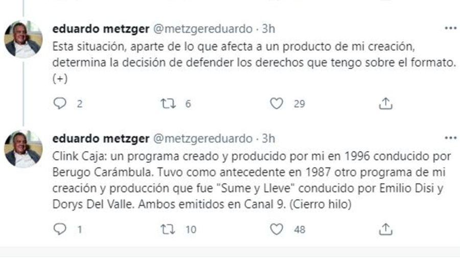 Eduardo Metzger contra LaFlia