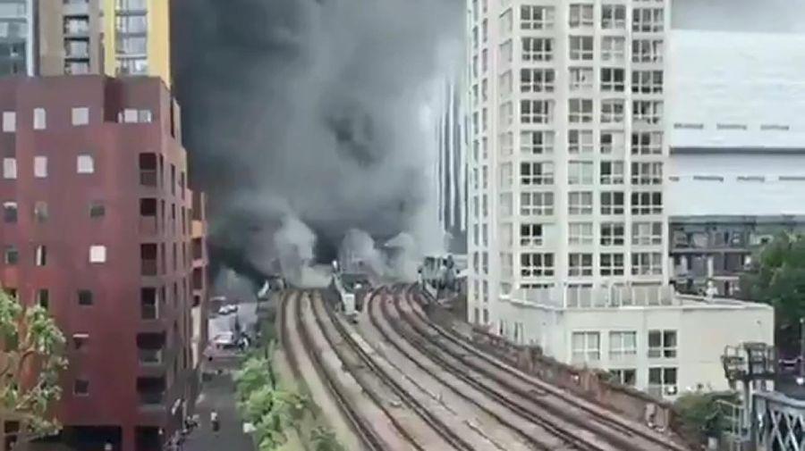 Explosión en Londres 20210628