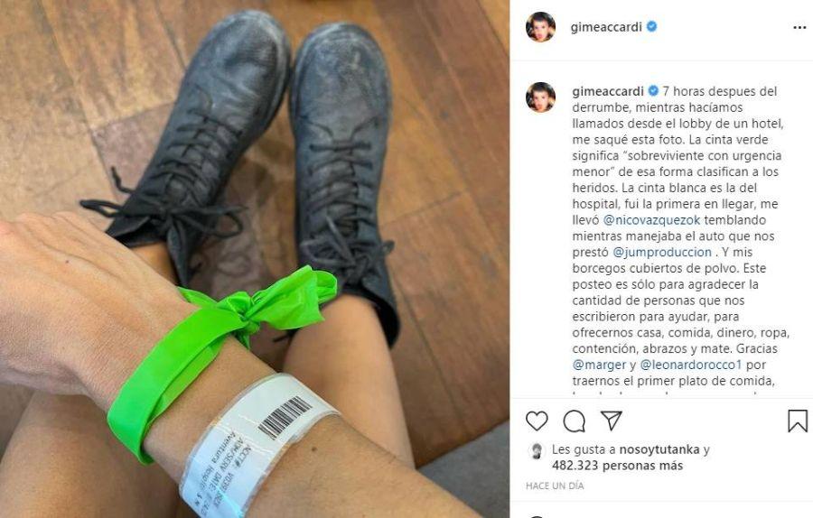 Gime Accardi y Nico Vázquez vuelven al país tras el trágico derrumbe en Miami