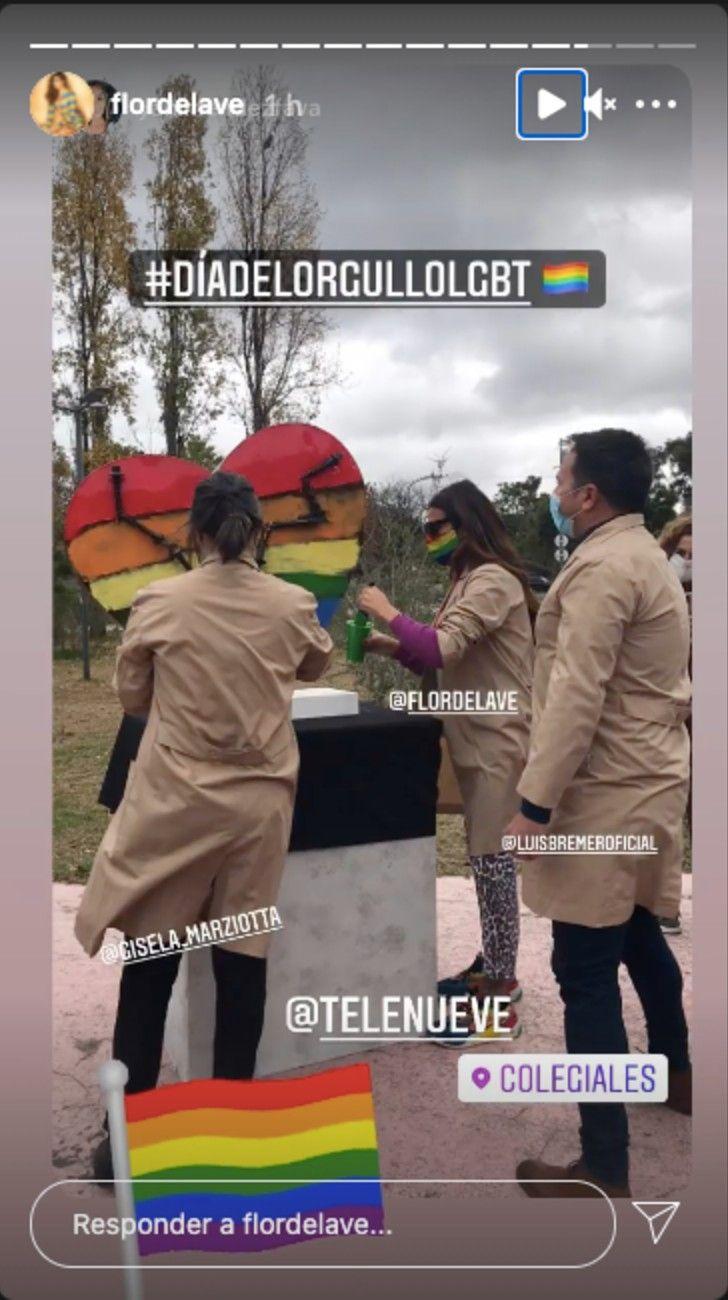 La China Suárez, Guille Valdés, Lali Esposito, Florencia de la V, y otros famosos celebran el Día del Orgullo
