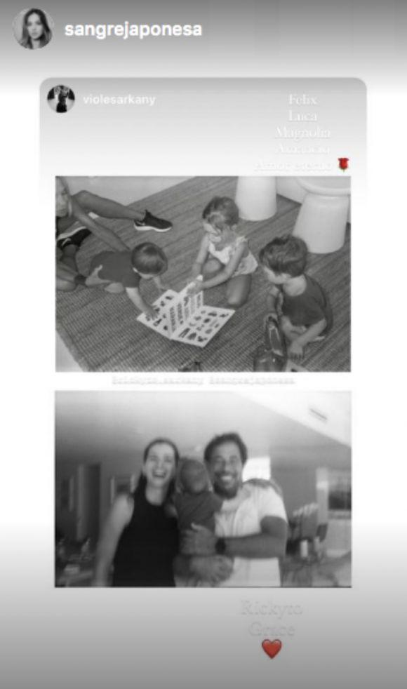 Las conmovedoras postales del día en el que la China Suárez conoció al hijo de Sofía Sarkany
