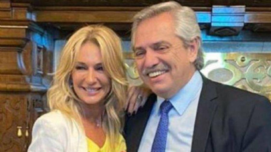 Yanina Latorre y Alberto Fernández 0628