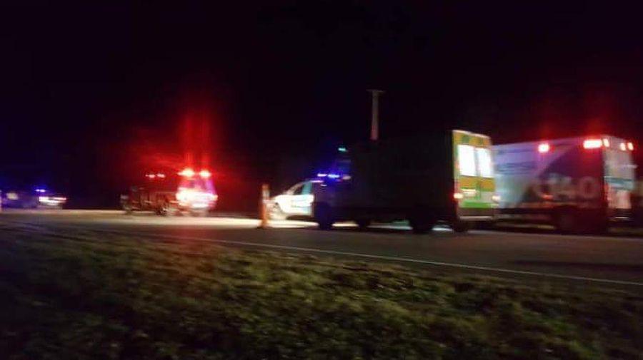 Accidente en Ruta 2 Altura Chascomus 20210629