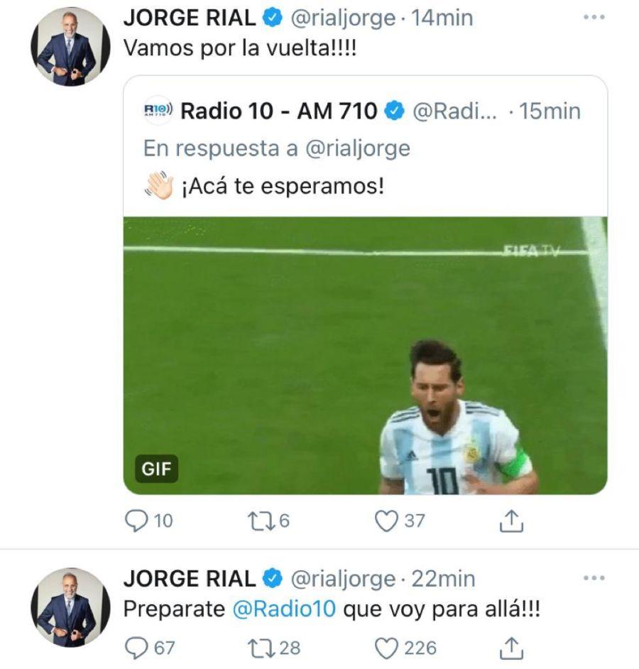 El nuevo desafío laboral de Jorge de Rial