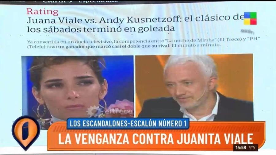 Nota enojo Juana Viale Clarin