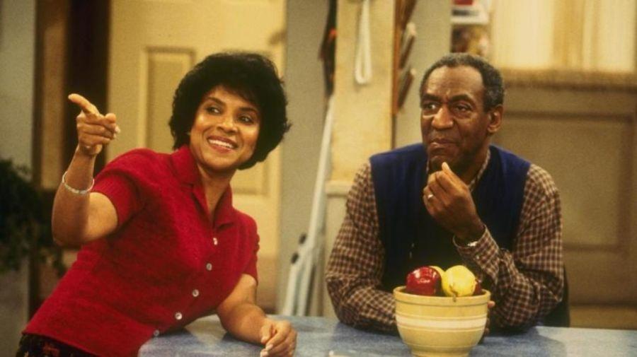 Phylicia Rashad y Bill Cosby