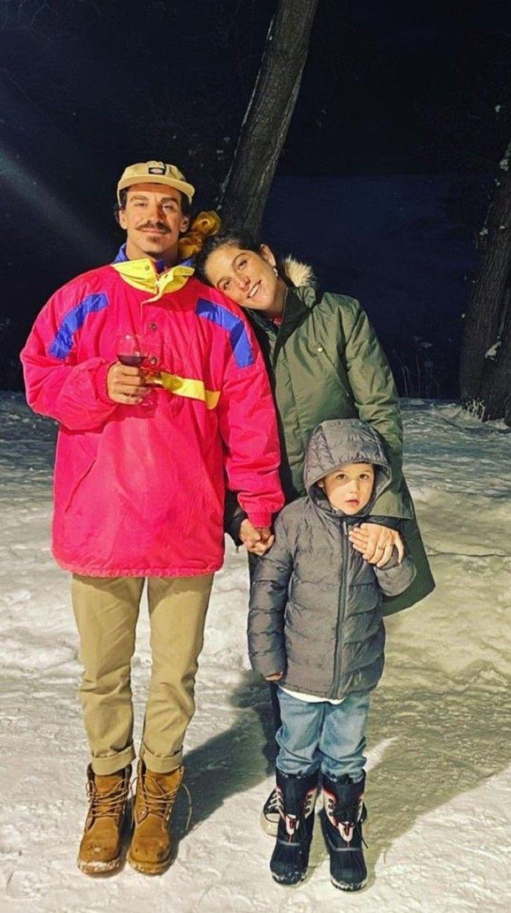 SebastiánGraviotto, el marido instructor de snowboard de Juana Repetto
